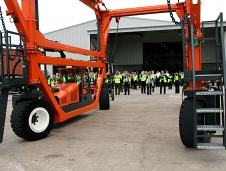 Combilift - Straddle Carrier